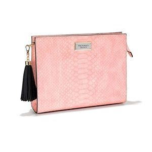 Victoria's Secret Pink Oversized Bag Clutch NWT